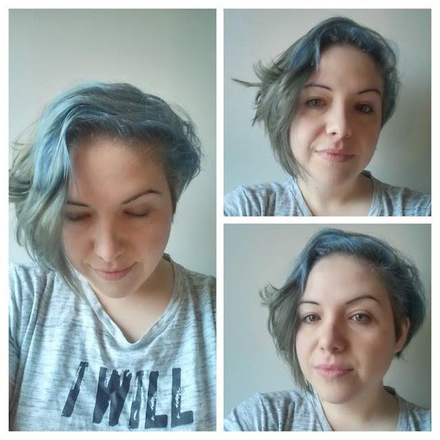 J'ai osé les cheveux gris et bleus avec Féria de L'Oréal