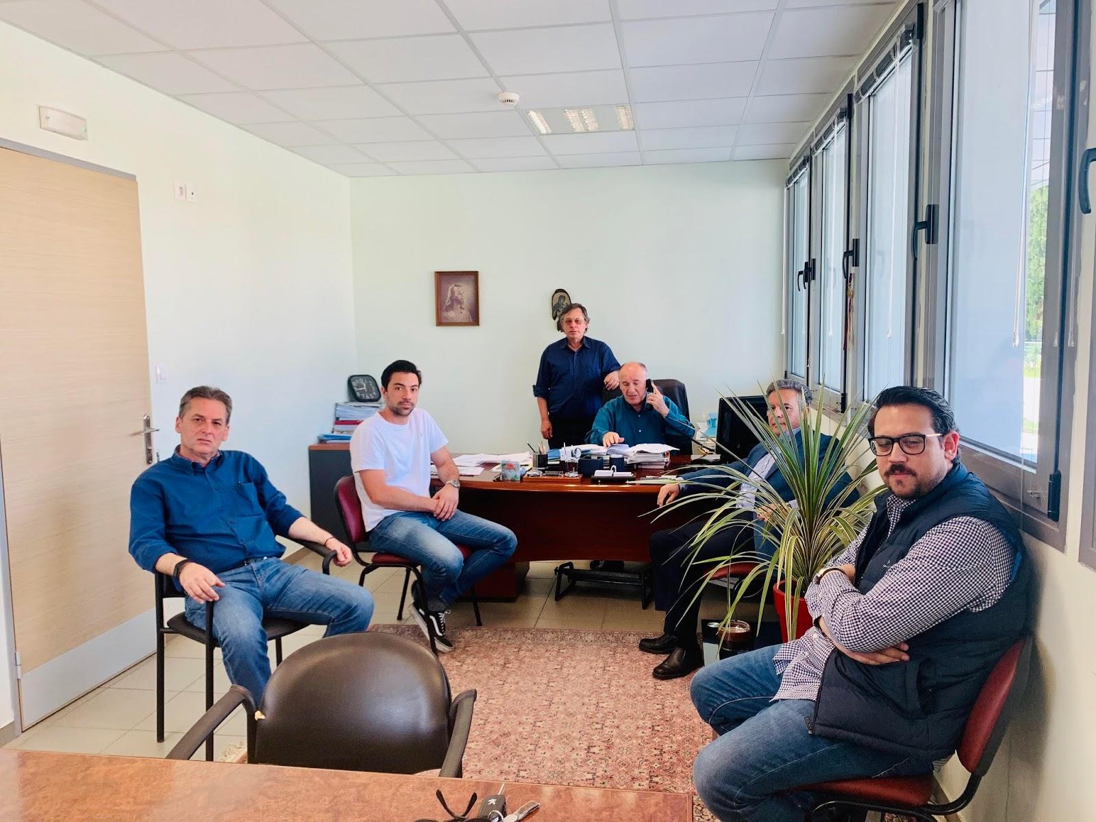 Συνεδρίασε ο Γεωπονικός Σύλλογος Λάρισας και το  ΓΕΩΤ.Ε.Ε. για ζημιές από παγετό