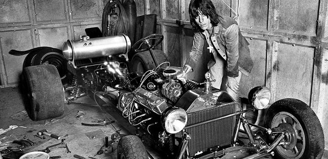 Jeff Beck y los coches Hot Rods