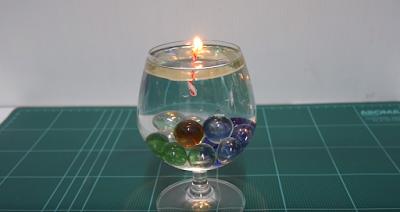เทียนน้ำสุดเจ๋ง