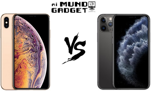 Comparativa: iPhone XS Max vs iPhone 11 Pro Max