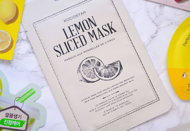 Kocostar Lemon Sliced Mask Review