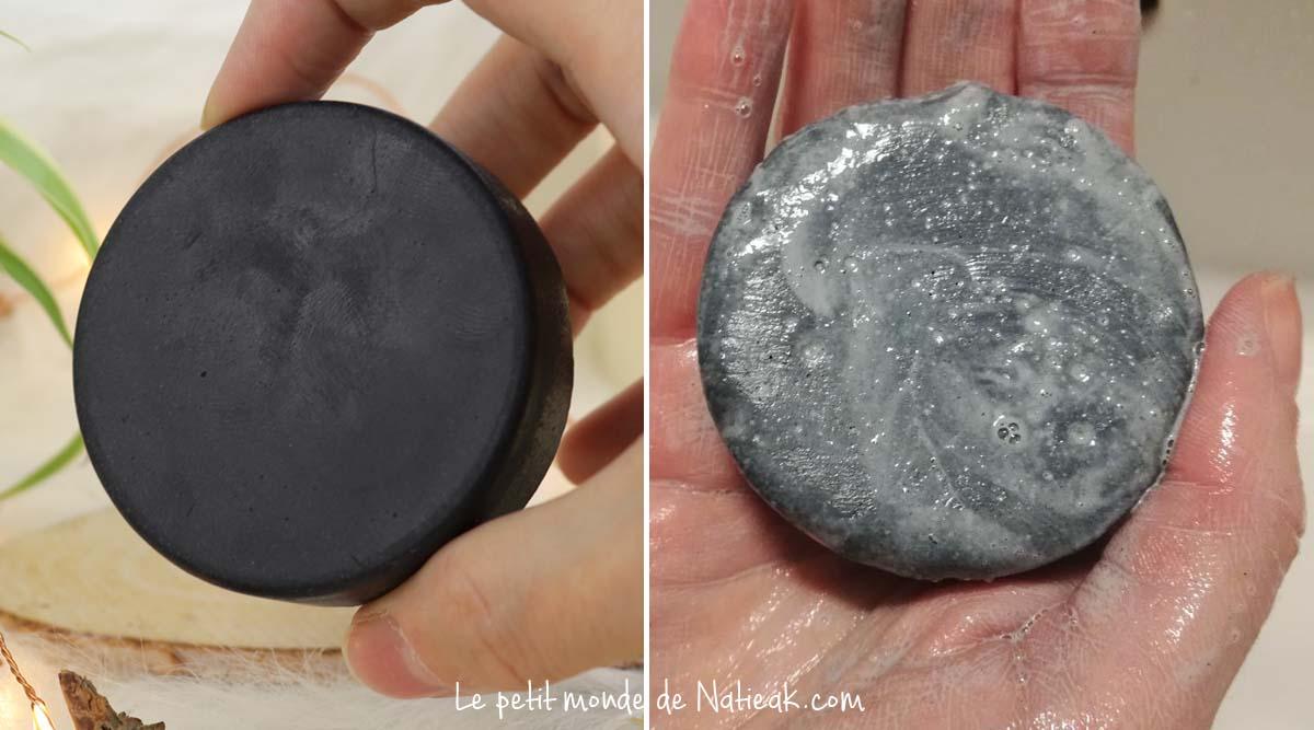 savon au charbon noir bienfait