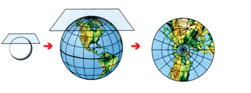 Jenis Proyeksi Peta Menurut Berbagai Kriteria