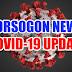 Sorsogon, nakapagrehistro nin mga bagong kaso kan Covid-19; Sorsogon City may pinadakol na aktibong kaso