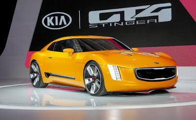 GT4 Stinger ConceptCar KiaMotors