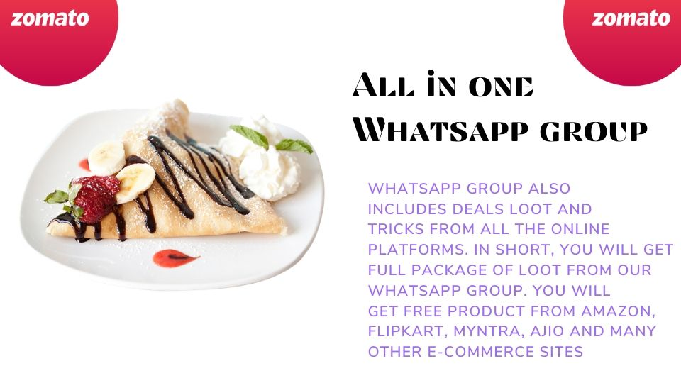 food whatsapp group