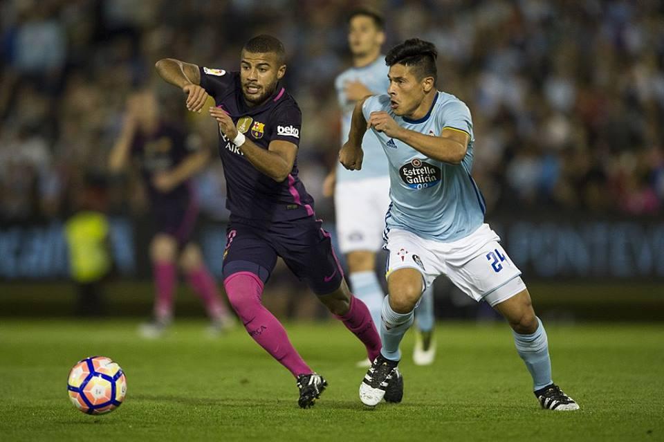 Celta de Vigo derrota al Barcelona