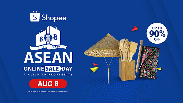 Shopee Celebrates ASEAN's 53rd Founding Anniversary by Joining the Inaugural ASEAN Online Sale Day