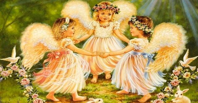 Сильный оберег трех ангелов: Хранит от всех жизненных проблем!