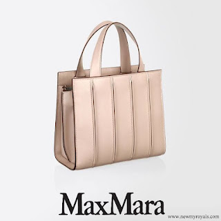Crown Princess Mary carries Max Mara Small Whitney Bag