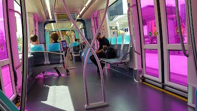 tram colorato