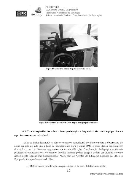TRABALHO COM ALUNOS COM DEFICIÊNCIA MÚLTIPLA