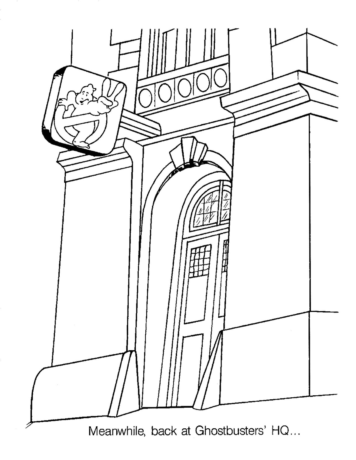 Ghostbusters Stay Puft Coloring Pages Coloring Pages