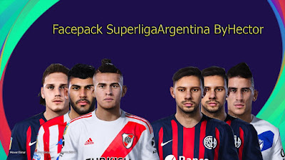 PES 2021 Facepack Superliga Argentina by Hector