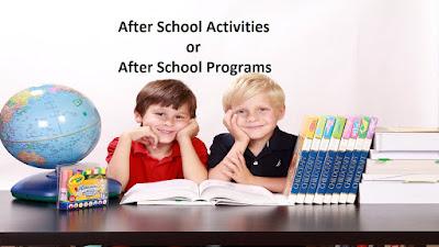 After school Activities, After school programs