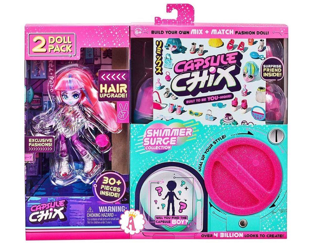 Новинка Capsule Chix Hair Upgrade Shimmer Surge