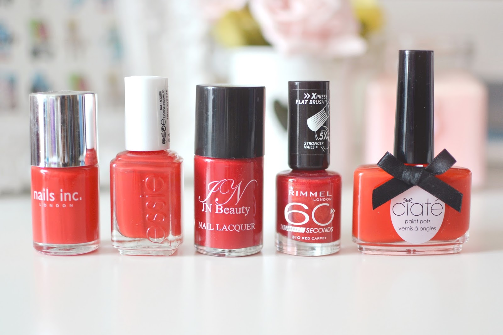 best red nail polish, top 5 red nail polish,