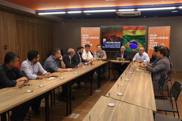 Comitiva de empresários bolivianos planeja negócios em Rondônia