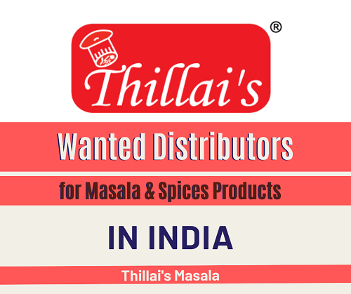 Wanted Distributors for Indian Masala & Spices Products