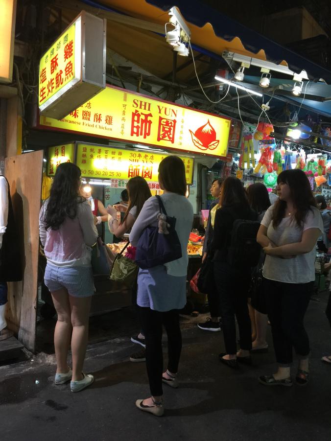 Good Food At Shida Night Market