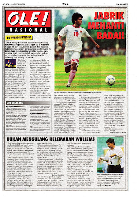 PIALA TIGER 98 VIETNAM NUR ALIM INDONESIA