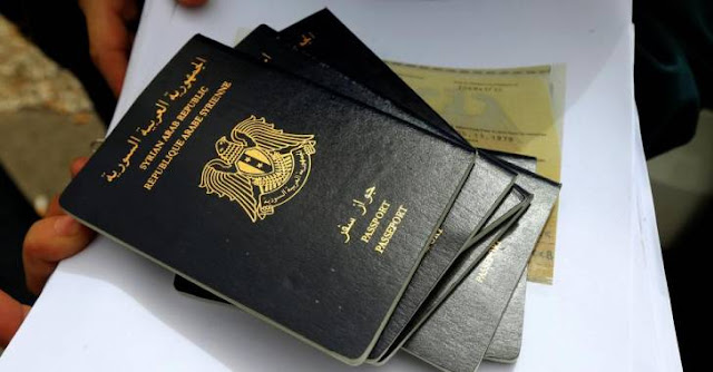 تمديد صلاحية جواز السفر للجاليات السورية في الخارج