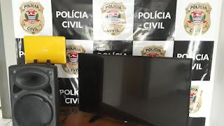 Polícia Civil recupera objetos furtados em escola pública na cidade de Iporanga
