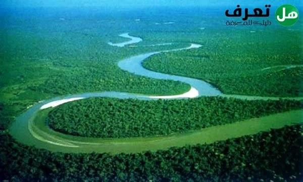 أطول أنهار العالم