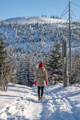 Wanderung auf den Lusen  Winterwandern im Nationalpark Bayerischer Wald 10