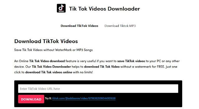 اسهل الطرق لتحميل فيديو التيك توك للكمبيوتر والهاتف مجانا بدون تطبيقات