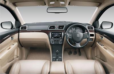 New Maruti Suzuki Ciaz interior