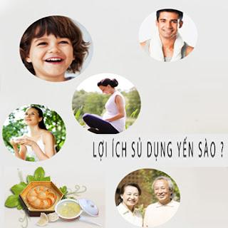 Tác dụng, lợi ích của tổ yến đối với sức khỏe con người