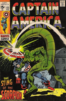 Captain America #122, the Scorpion