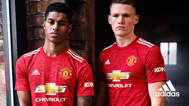قميص مانشستر يونايتد الجديد 2020