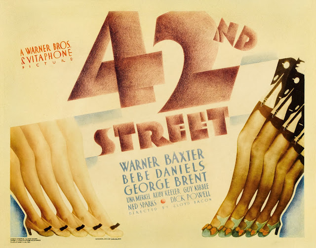 42nd Street 1932 movieloversreviews.filminspector.com film poster