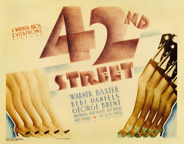 42nd Street 1932 movieloversreviews.filminspector.com film poster
