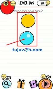 Level 149 jawaban dimana lagi bola hijau? brain test