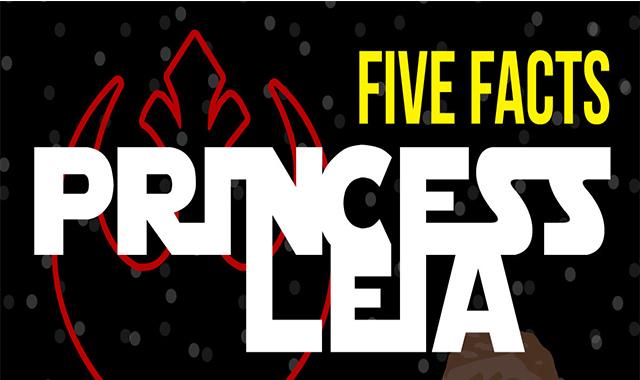 Five Facts Of Princess Leia