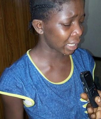 nigerian girl deported from libya
