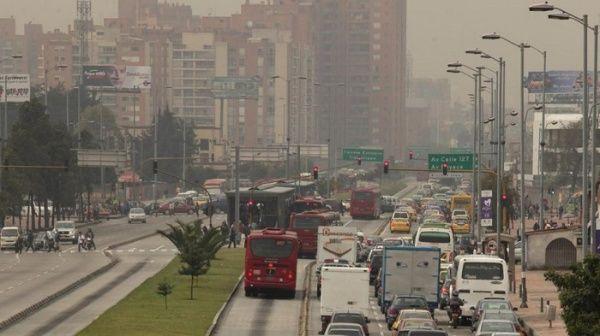 Alerta amarilla en Bogotá por mala calidad del aire