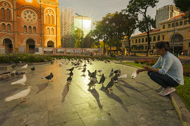 Sunrise and morning photography in Saigon