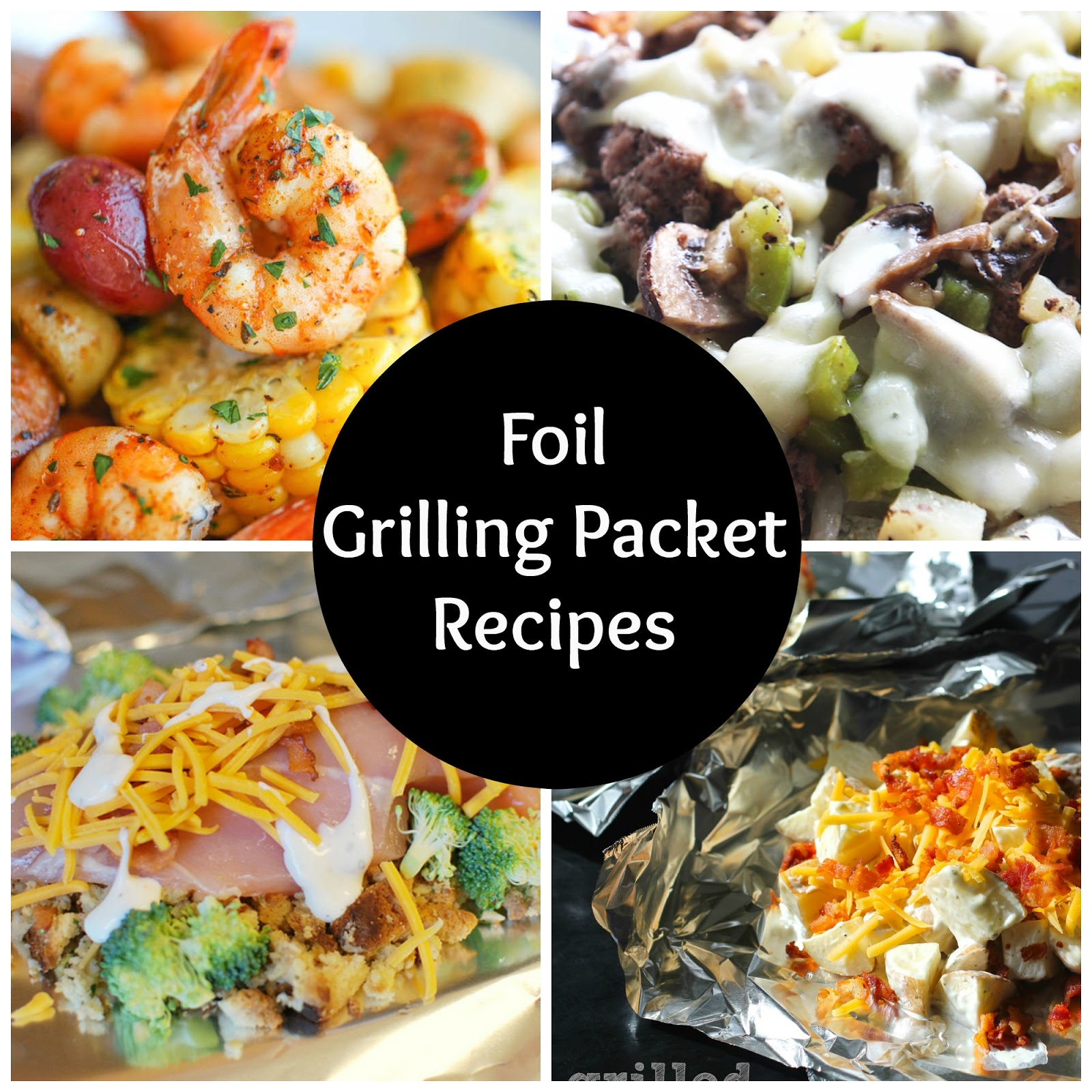 The Horton Family: Summer Grilling In Foil Packets