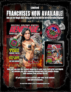 RENEGADE FRANCHISES NOW AVAILABLE!