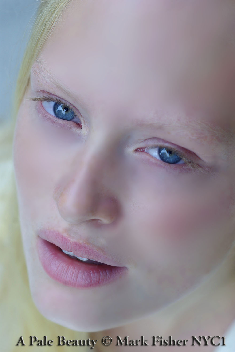 Pale Beauty Portrait Of Blond Woman Stock Image: Mark Fisher American Photographer™: Pale Beauty • American