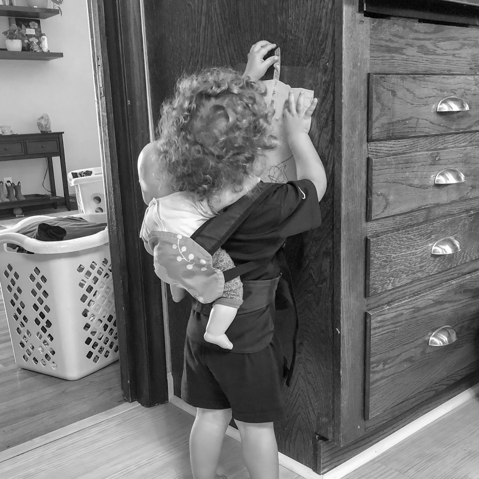 Montessori and baby wearing - thoughts on why the two are compatible from Maria Montessori herself