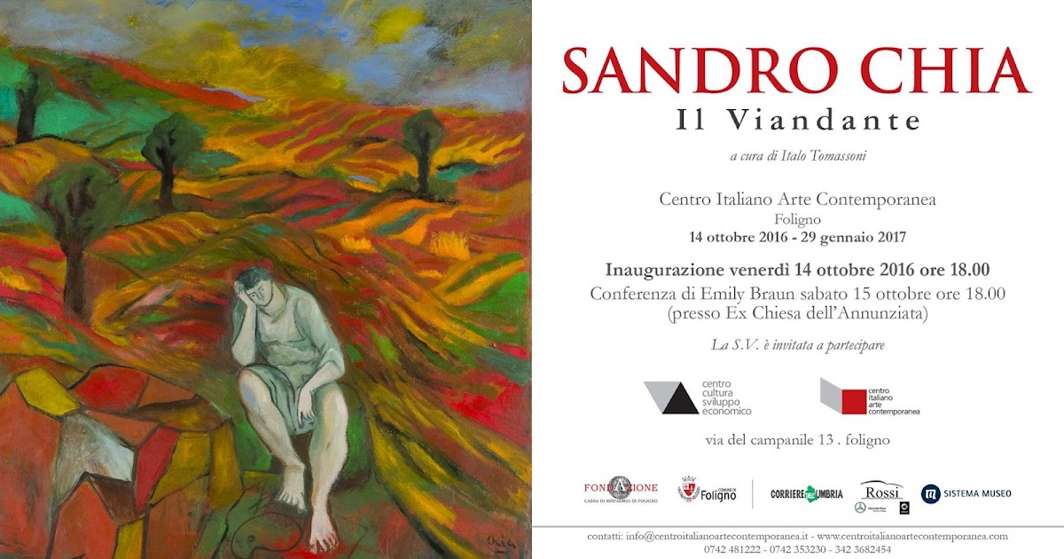 Sandro Chia - Il viandante