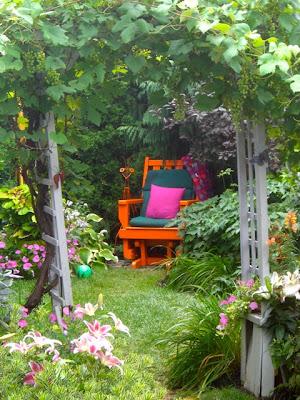 ideas sobre decoracin exterior en jardines con flores with jardines decoracion de exteriores