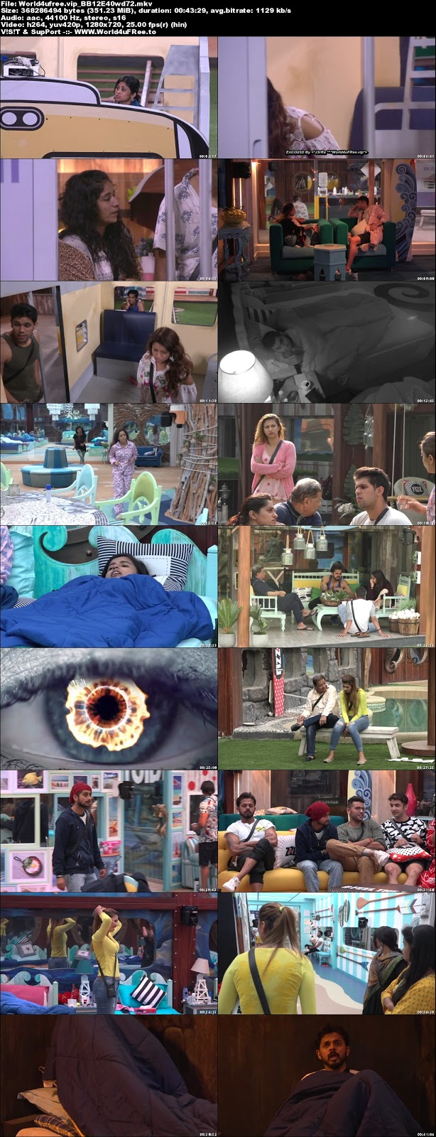 Bigg Boss 12 Episode 40 26 October 2018 720p WEBRip 350Mb x264 world4ufree.fun tv show Episode 40 26 October 2018 world4ufree.fun 300mb 250mb 300mb compressed small size free download or watch online at world4ufree.fun