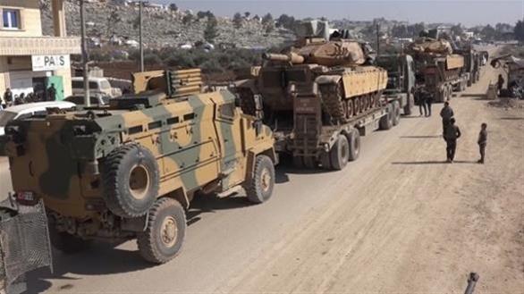 Νέα φυλάκια εγκατέστησαν οι τουρκικές δυνάμεις στην Ιντλίμπ